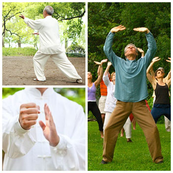 Tai Chi and Qigong with your training leader IIQTC